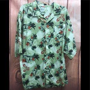 Columbia xl  Hawaiian tropical print shirt